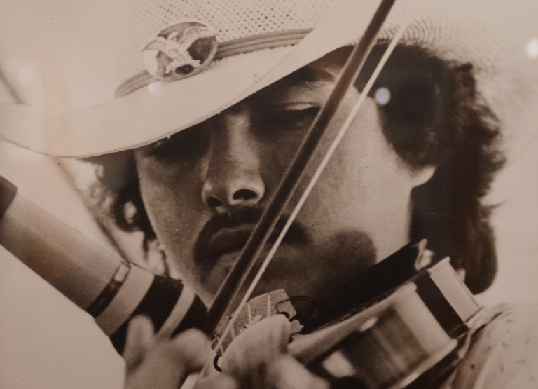 Batoche fiddler