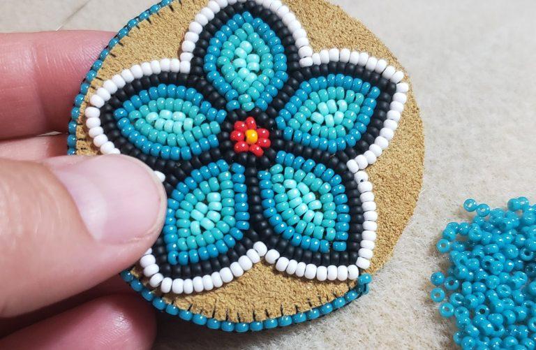 Beadwork Patch