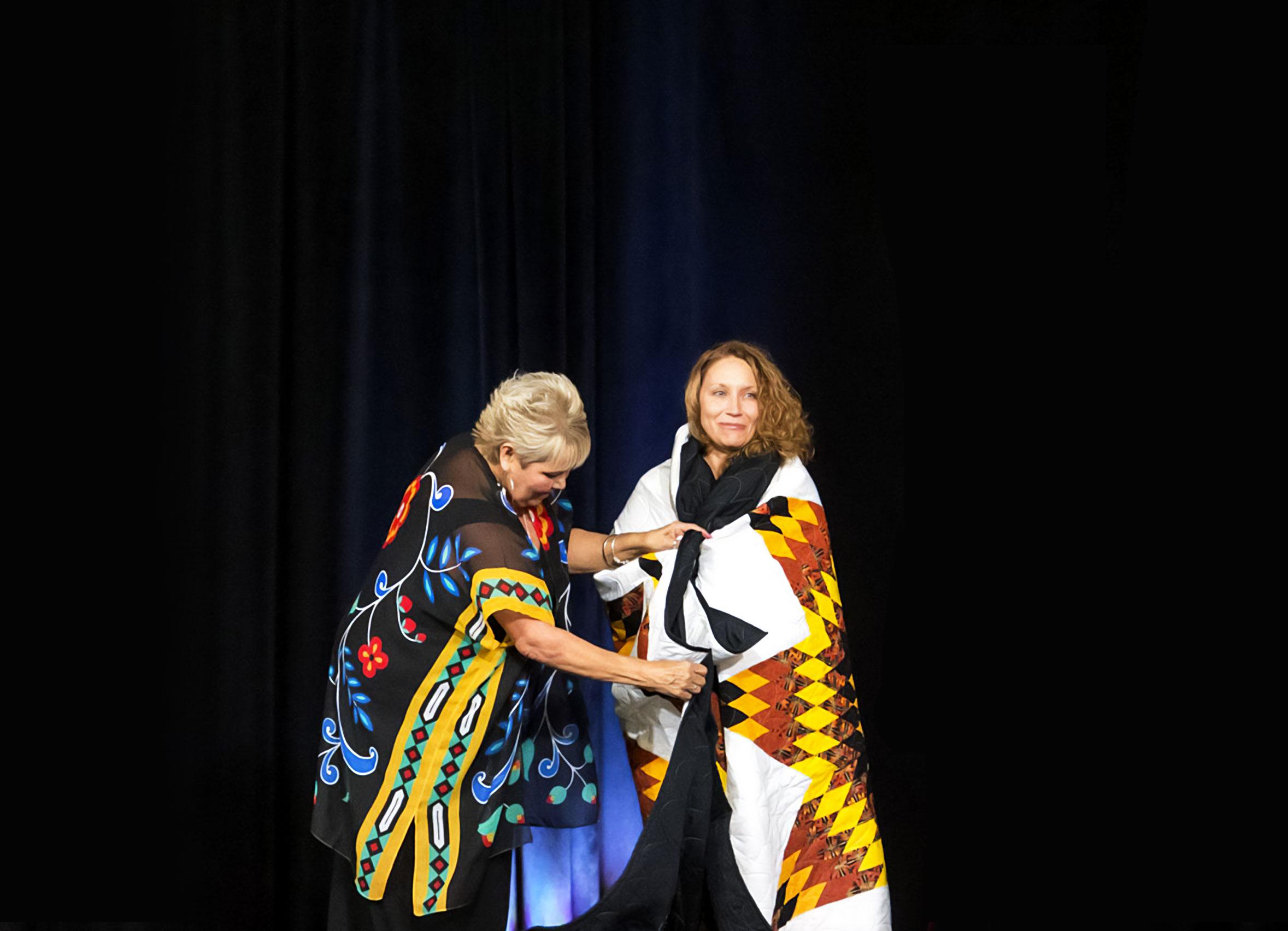 Sherry Ann McLennan & Merelda Fiddler-Potter